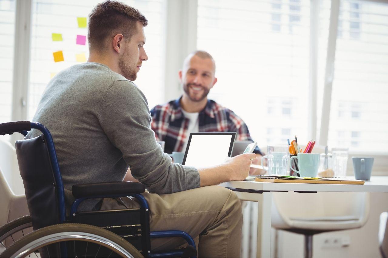 Travailler avec les handicapés