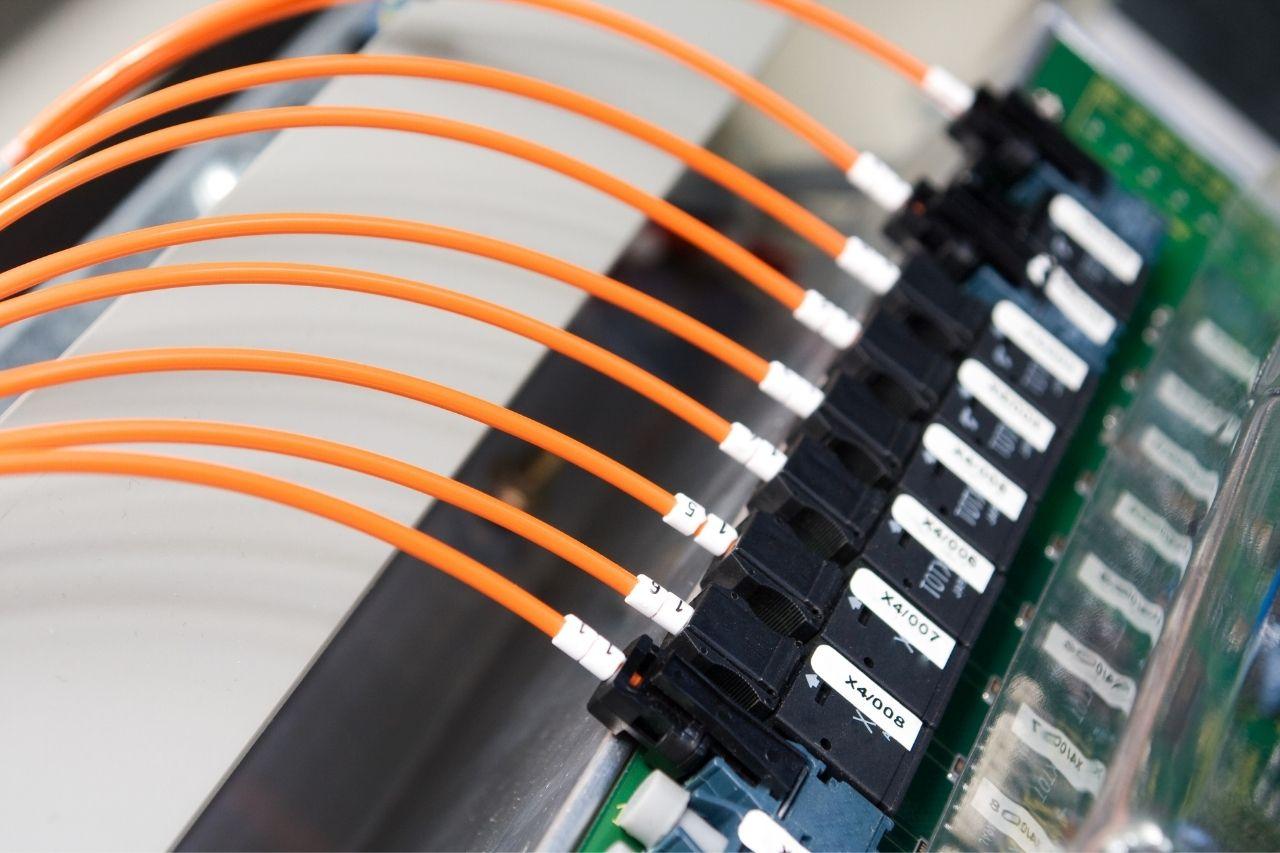 Travailler dans la fibre optique